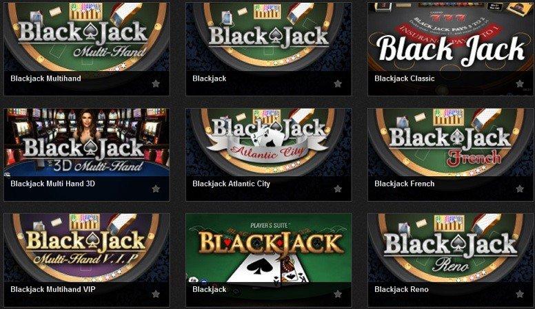 top blackjack games