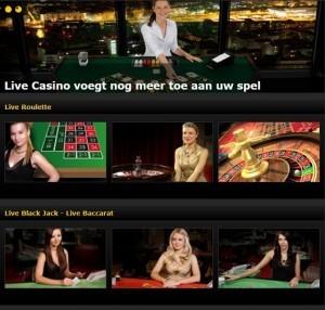 Casino Live dealers
