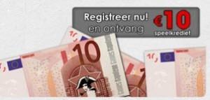 Registreer en ontvang 10€ bonus op napoleongames.be