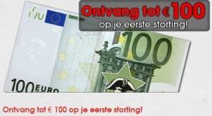 Eerste stortingsbonus tot 100€ op napoleongames.be