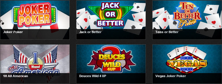 Videpoker op casino777.be