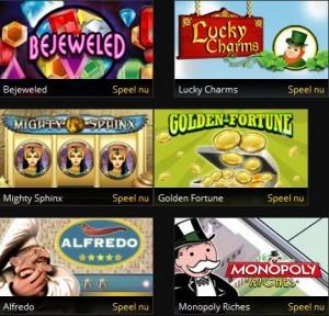 Instant games op grandgames.be