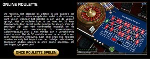 Online roulette op goldenvegas.be