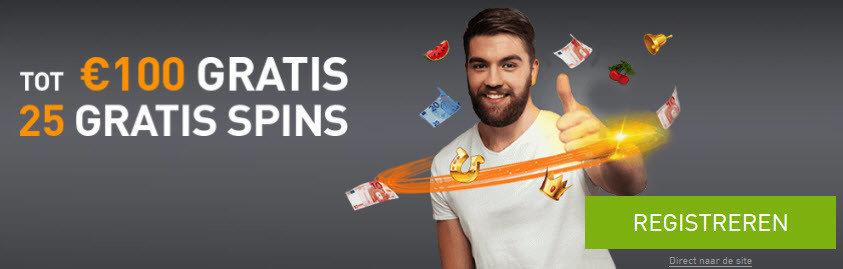 casino777 - gratis spins en tot 100€ gratis