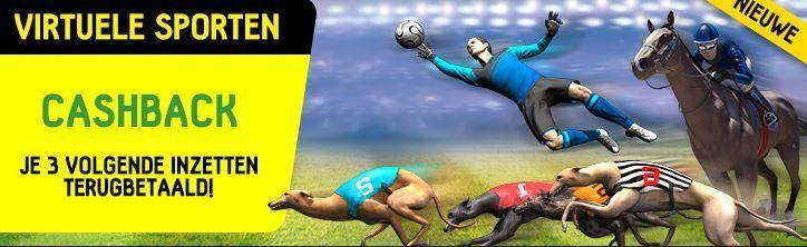 Betfirst cashback op virtuele sporten