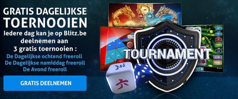 Blitz gratis dagelijks toernooien