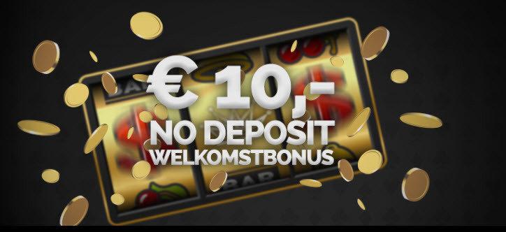 10 euro gratis inschrijvingsbonus