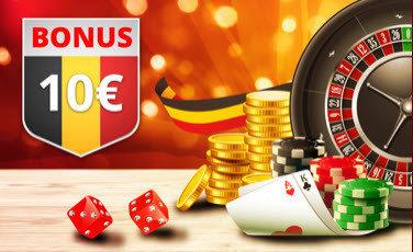 casinobelgium 10€ gratis geld