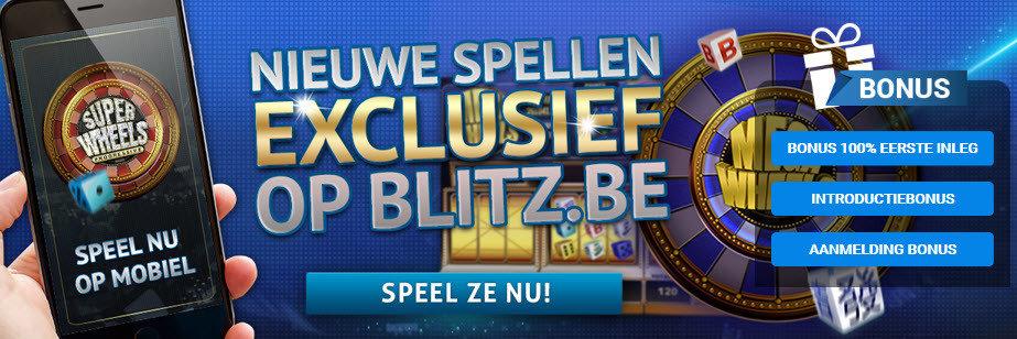 nieuwe spellen op Blitz
