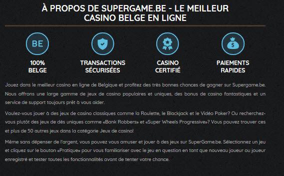 Supergame arcade en ligne