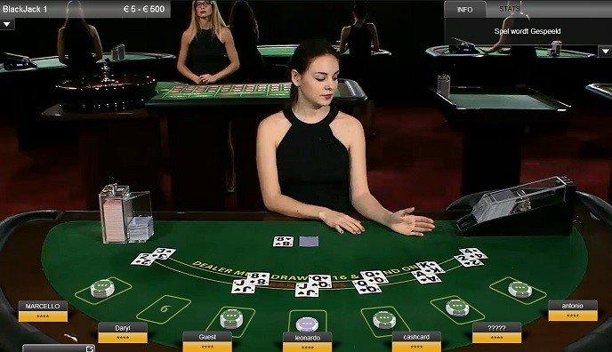 online casino blackjack met echte dealers