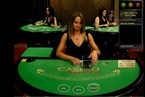 Hold'em poker tegen live dealers