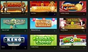 instant casino games