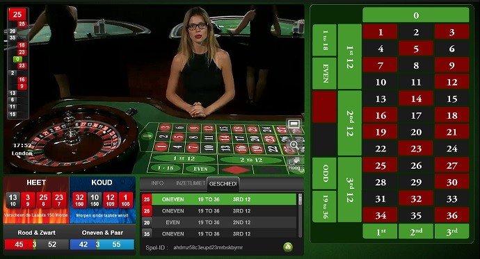 live online roulette casino