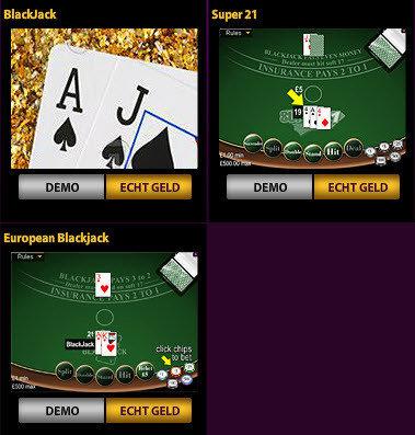 Online blackjack jackpotparty