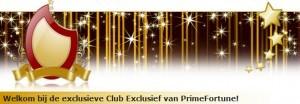VIP - Club exclusief op primefortune.be