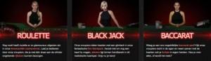 Speel tegen live dealer op casino777.be