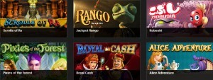 Speel videoslots op casino777.be