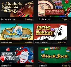 Casino games op grandgames.be