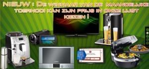 Prijzen maandelijks toernooi op goldenvegas.be