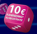 Registreer en ontvang een bonus op miragegames.be