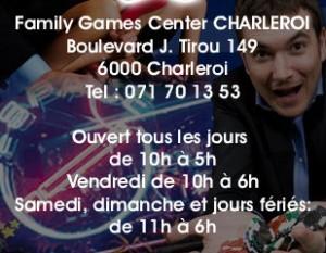 Game center Charleroi