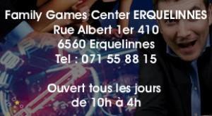 Game center Erquelinnes