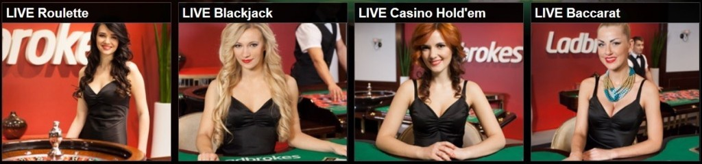 Ladbrokes Online Live Casino, Poker and Sports