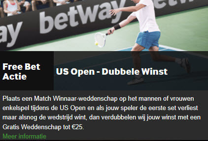 Betway freebet us open
