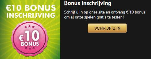 10€ gratis inschrijvingsbonus op GOLDENVEGAS online casino.