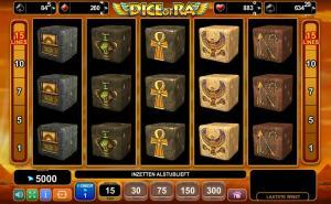 Luckygames Dice Of Ra DEMO