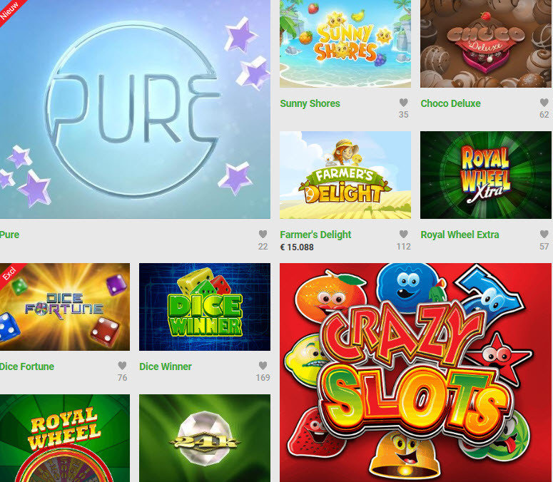 Unibet slots and games