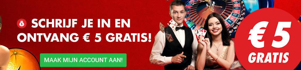 circus 5 euro freebet NL