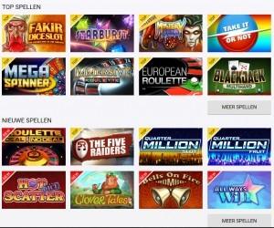 online casinospellen op Circus