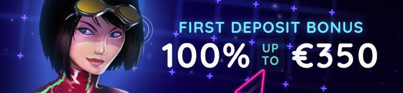 Supergame 1ste stortingsbonus 100% tot 350 euro 2