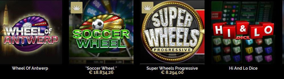 Supergame dice games