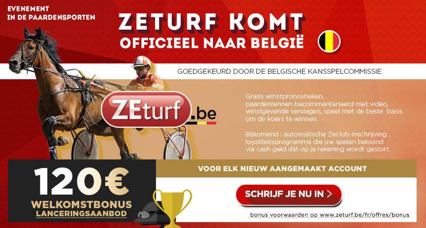 Zeturf komt naar België