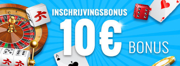Carousel online casino - 10€ gratis inschrijvingsbonus