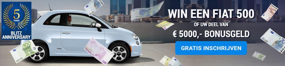 Blitz online casino bonus | Win een Fiat 500