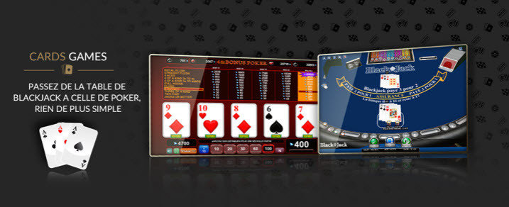 luckygames card games FR