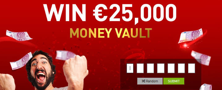 Casino777 money vault 25000 euros