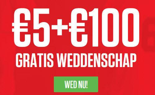 Ladbrokes 5 euro gratis NL