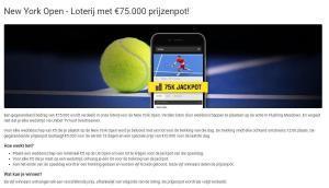 Us open lotterij