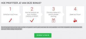 Circus online casino 5 euro gratis