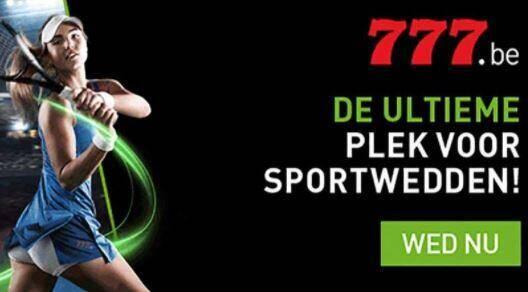 sportwedden op 777.be - Aanbiedingen van de Belgische online casino's - september 2020