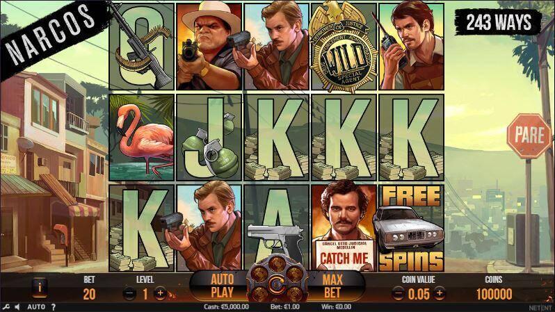 Speel Narcos op ladbrokes.be - Aanbiedingen van de Belgische online casino's - september 2020