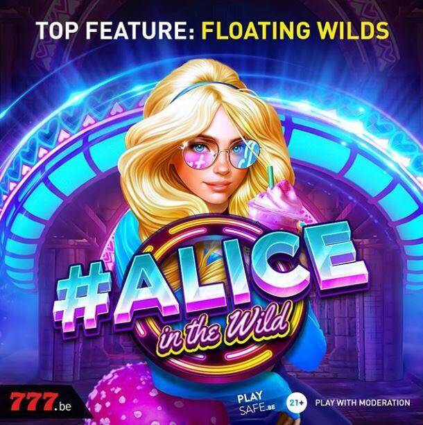 Casino777 presenteert Alice in the wild