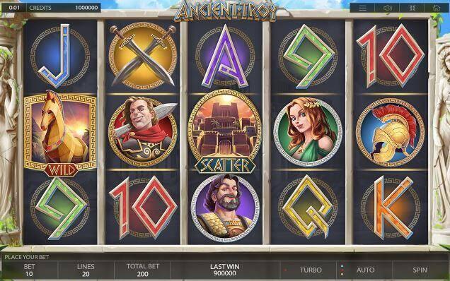 Blitz presenteert: Ancient Troy slot van Endorphina