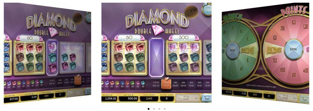 Diamond double Wheel features op supergame casino - Aanbiedingen van de Belgische online casino's - september 2020