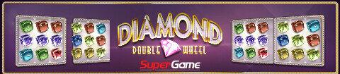 DIAMOND DOUBLE WHEEL OPSUPERGAME - Aanbiedingen van de Belgische online casino's - september 2020